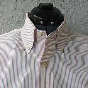 Brooks Brothers Multi Striped Men's Cotton Shirt